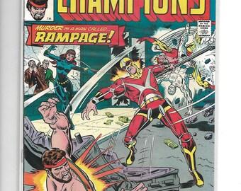 CHAMPIONS #5 Hercules,Black Widow,Angel,Ghost Rider,Iceman Team-Up