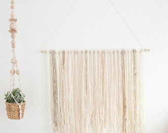 Large wall hanging | boho wall decor | wall decor | yarn macrame | tapestry