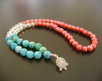 Perseverance Mala necklace