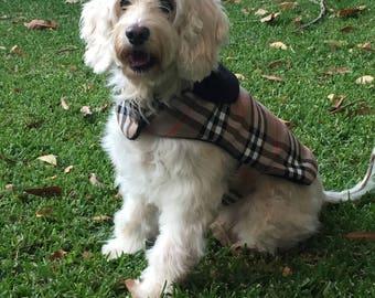 Winter Wool Dog Coat