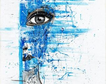 Acrylic painting on canvas - Original