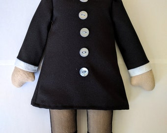 Wednesday Addams Headless Doll, Addams Family, Horror, Halloween Costume