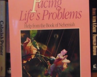 Facing Life's Problems Book   Martha Tyler  Christian Book  OOP