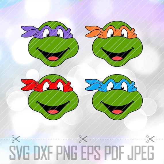 Teenage Mutant Ninja Turtles Svg Dxf Png Eps Vector Cut Files