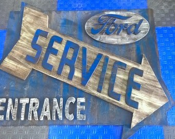 Ford Sales Entrance Sign Recreation