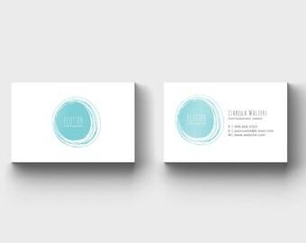 Blog Business Card - Photographer Business Card - Premade Business Card - Blog Business Card Template - Blog Business Card design