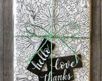 Make Your Own Card Kit | Floral & Geometric