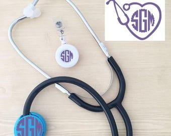 Med Student Graduation Gift Set - Gift for Nurse - RN Gifts - Student Nurse Gift Set - Nurse Monogram Set - Birthday Gift for Nurse - Nurses