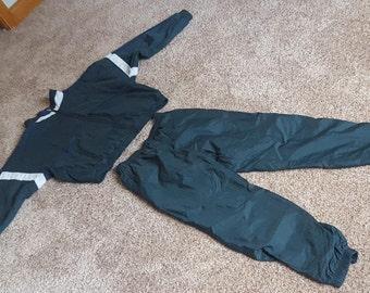 Vintage 1990s Reebok Nylon Track Suit Size L