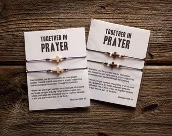 Prayer Partner Bracelets - Adjustable