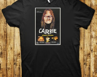 Carrie Foreign Movie Poster T-Shirt