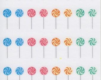 Lollipop | 151 | Planner Sticker | Kikki-K | Happy Planner | Erin Condren