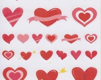 Hearts 1 | 193 | Planner Sticker | Kikki-K | Happy Planner | Erin Condren