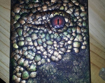 Dragon Journal with 112 aged pages