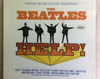 Original Soundtrack Rock The Beatles Help! McCartney Lennon NM- Vintage Apple Records Vinyl