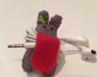 Felt Headphones Rabbit