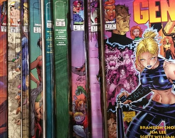 Image Comic Gen 13 Lot of 11 First Print 1996