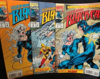 Marvel Comics Felicia Hardy The Black Cat Lot of 3 1994