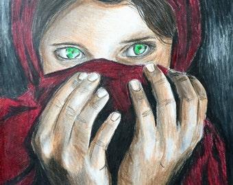 Shabbat Gula: Afghan Girl