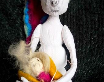 Handmade Artisan Designer Mountain Doll