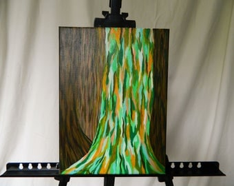 Rainbow Eucalyptus Tree Painting
