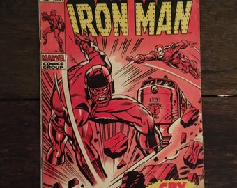Vintage Iron Man comic book, Issue 13, May 1969, 12 cents, Marvel Comics Group, The Invincible Iron Man