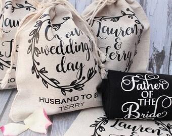 Custom Wedding Socks | Father of the Bride | Groom | Bridal Party