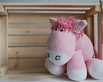 Handmade Amigurumi Sweet Pony Crochet