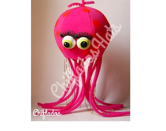 Jellyfish party hat