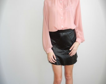 Bubble Gum Pink Blouse