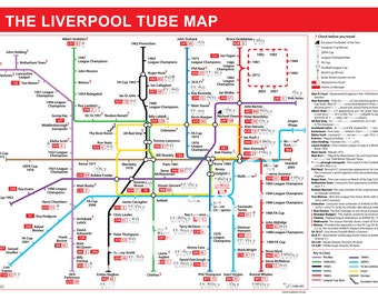 The Liverpool Football Tube Map