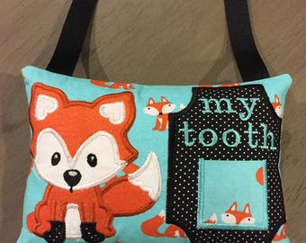 Tooth fairy pillow Peaking Fox