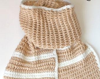Women scarf, women shawl, winter scarf, spring scarf, Tunisian Crochet