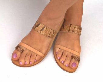 leather sandals,womens shoes,snake sandal,greek sandals,handmade sandals,gifts,gifts,sandals,womens sandals,womens,leather snake