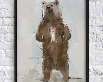 OH MY A BEAR!