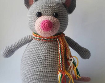 Crochet amigurumi pattern / Betty the Mouse / Crochet mouse pattern / Crochland / amigurumi pattern / Toy pattern