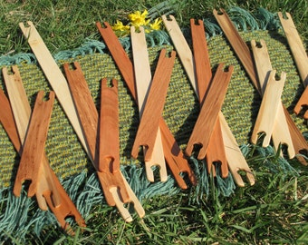 Mixed wood stick shuttles/wooden stick shuttles/sustainable wooden shuttles