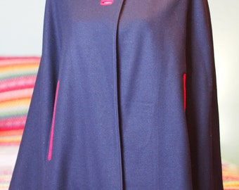 WWII 1940's 1950's Wool Cape *Price Reduced*