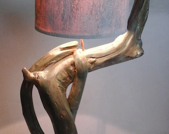 Of driftwood lamp