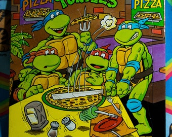 Teenager Mutant Ninja Turtle puzzle - Rose art - 1990