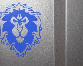 World of Warcraft Alliance Vinyl Decal