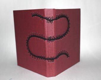 Handmade Sketchbook or Journal with Decorative Stitch