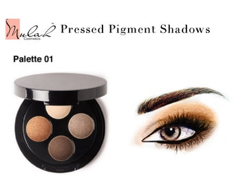 Smokey Eye Pressed Pigment Eyeshadow Palettes