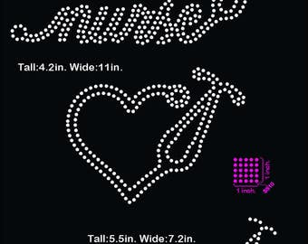 Nurse, heart, love, rhinestone template digital download, svg, eps, studio3, png, dxf