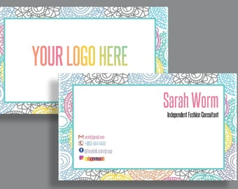 Business Cards Fashion Consultant Card home office approved business cards custom business card for fashion consultant & retailer LLR cards
