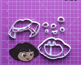 Dora The Explorer Fondant Cutter