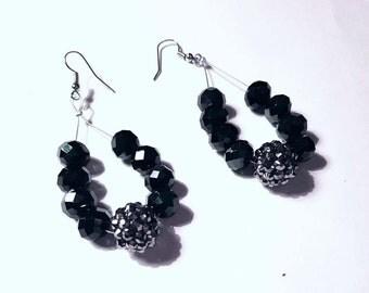 Handmade Earrings with Swarovski Crystals