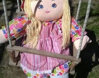 Handmade Waldorf Doll Kit, Waldorf doll body, waldorf doll, fabric doll, textile doll, rag doll, cloth doll, personalized doll, custom doll
