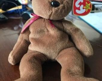 Teddy the bear Beanie Baby