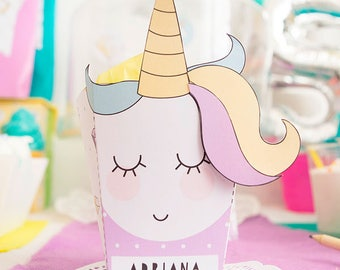 Unicorn box - candy box